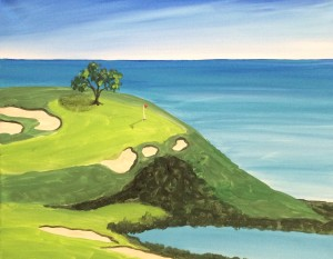 Golf Coarse Painting